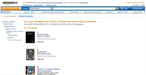 'Respira' número 1 en Amazon