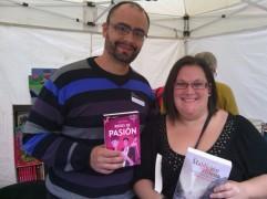 Con Raquel Antúnez.